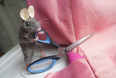 Needle Felted Mouse with Wire Armature<br>Thurs. July 27, 6-9pm