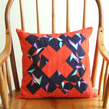 Kisses<br>Quilt-Pieced Envelope Back Pillow Cover Pattern
