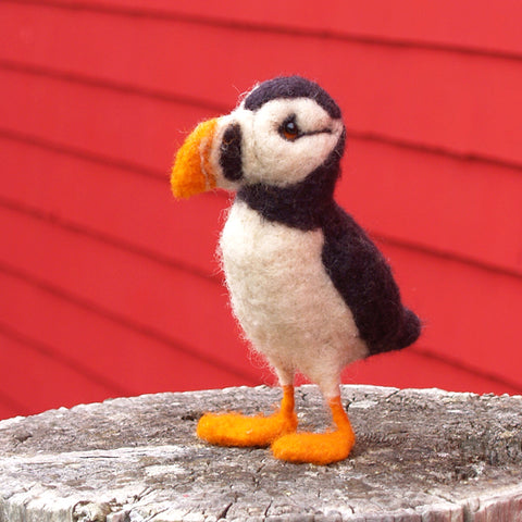 Atlantic Puffin Needle Felting DIY Kit