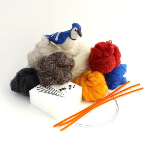 Bird Lover Deluxe Wool Needle Felting Kit