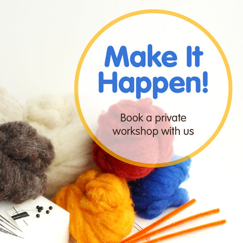 Make It Happen!<br>Book a Private Workshop
