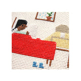 Reading in Bed DIY Cross Stitch Kit