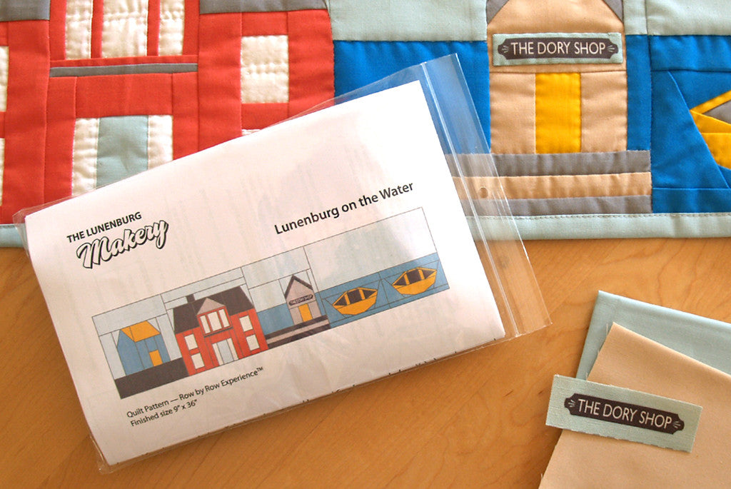 """Home Sweet Home"" Quilt Row Kit<br>Row by Row Experience 2016"