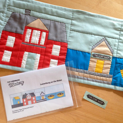 """Home Sweet Home"" Quilt Row Pattern Row by Row Experience 2016"