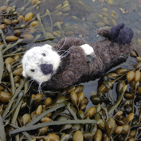 *NEW* Needle Felted Otter - Sat. July 21, 10am-1pm