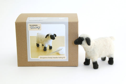 Shropshire Sheep Needle Felting DIY Kit