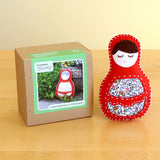 Single Matryoshka Doll D.I.Y. Felt Hand Sewing Kit