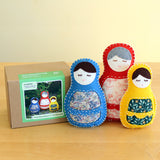 Matryoshka Dolls D.I.Y. Felt Hand Sewing Kit