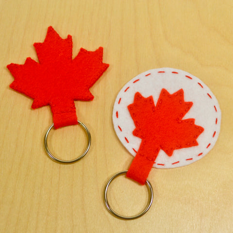 OH CANADA D.I.Y. Felt Key Chain Hand Sewing Kit