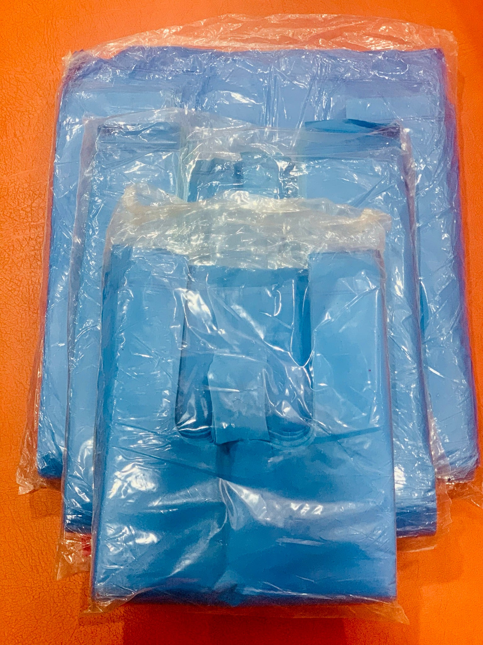Muazmee Blue Color ( t-shirt ) Plastic Hand Bag