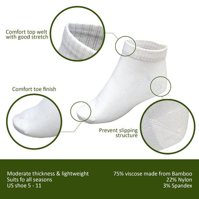 women Wayi Bamboo sports socks