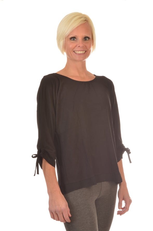 women Wayi Bamboo tied sleeve top