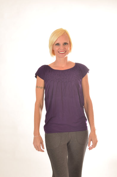 women Wayi Bamboo Ka short sleeve top
