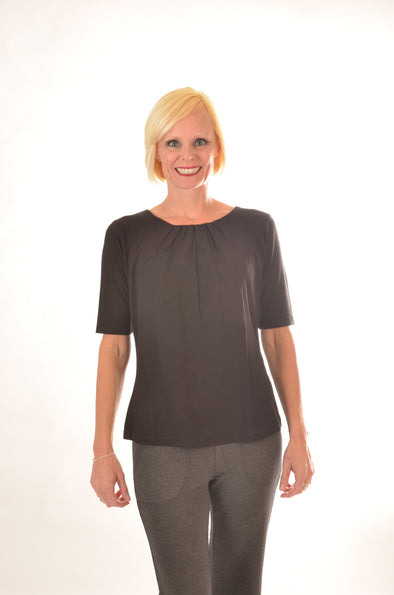 women Wayi Bamboo half sleeve top