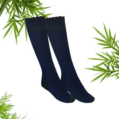 women Wayi Bamboo knee high socks