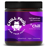 Chil Gummy. Calm & relaxed. Take the edge off. anti stress and anxiety. COA. For that calm feeling