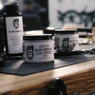 Slick Gorilla - Clay Pomade (Delivery Date: 10 June)
