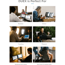 Load image into Gallery viewer, DUEX Pro - The On-the-go Dual Screen Laptop Monitor (Delivery Date: 10 June)