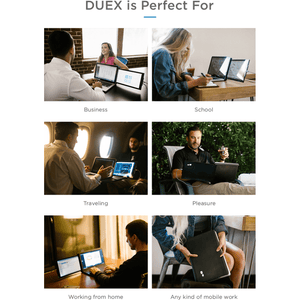 DUEX Pro - The On-the-go Dual Screen Laptop Monitor (Delivery Date: 10 June)