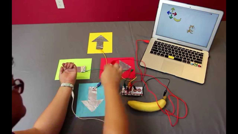 Introducing the Makey Makey and Makey Makey GO!