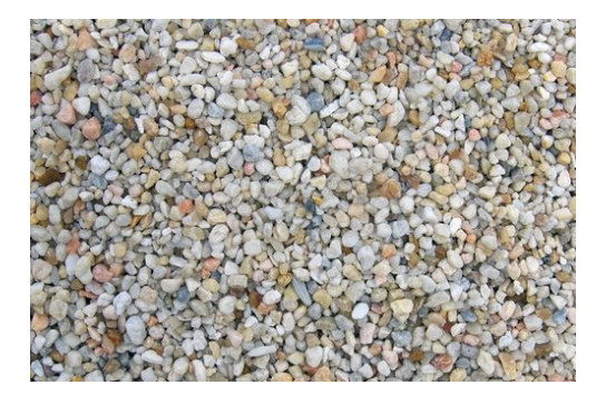 White Pea Gravel - Cornerstone Landscape Supply