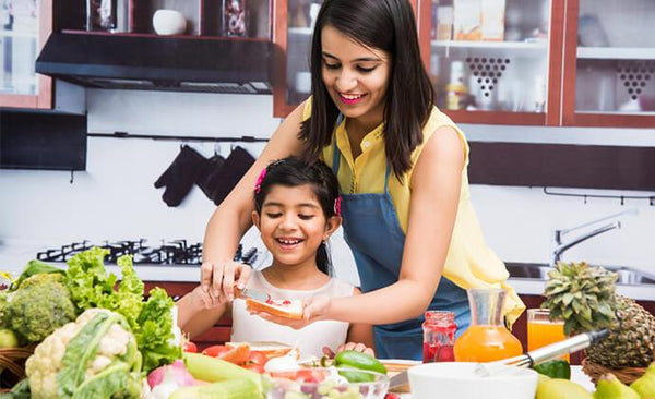 Getting fussy kids to eat healthy