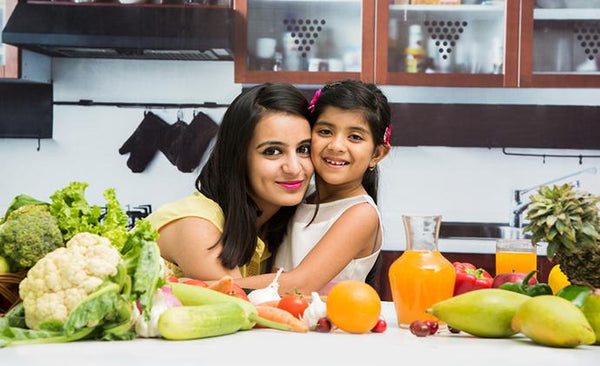 Instilling good eating habits in kids