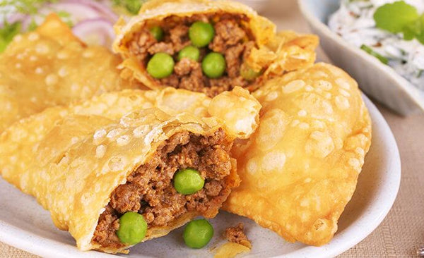 Tata Sampann Recipes - Keema Samosa