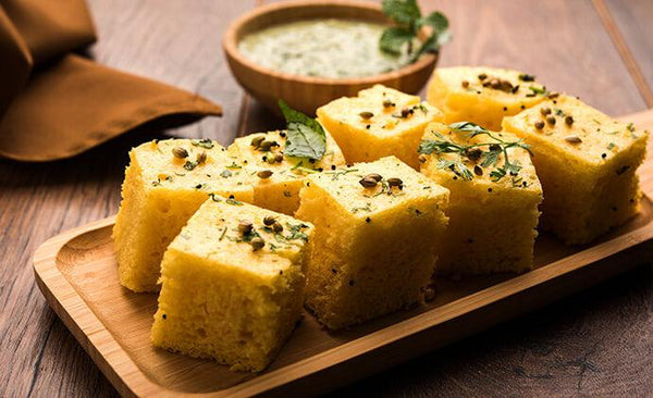 Tata Sampann Recipes – Khatiya Dhokla & Garlic Chutney