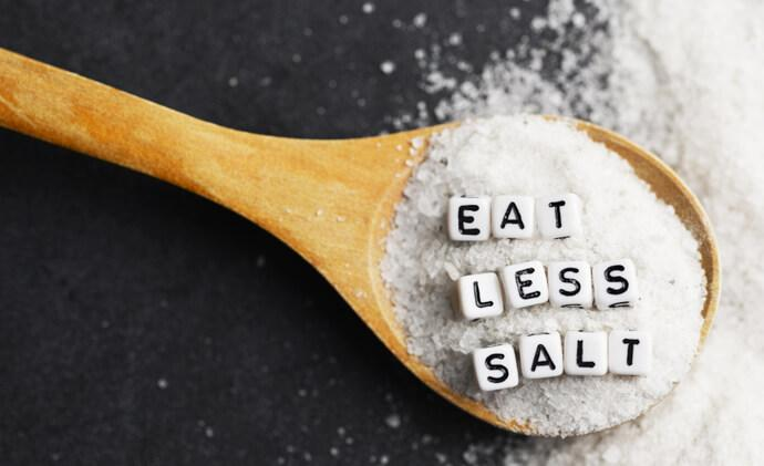Benefits of low sodium diets