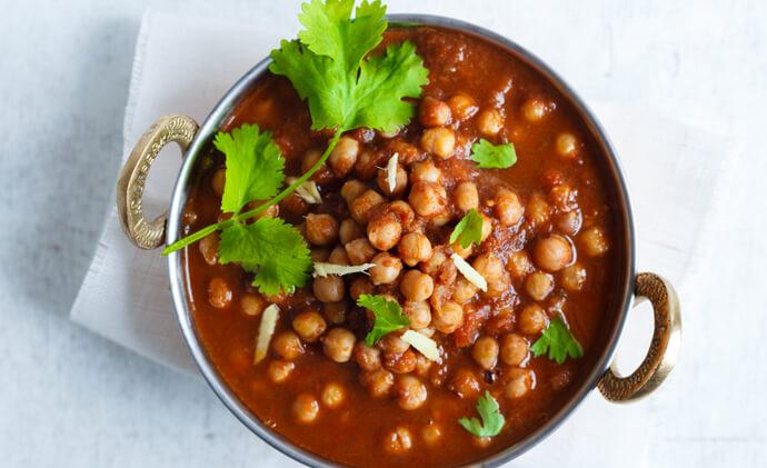 Tata Sampann Recipes - Niramish Chana Masala