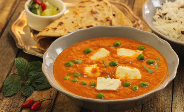 Tata Sampann Recipes – Matar Paneer by Bharatz Kitchen