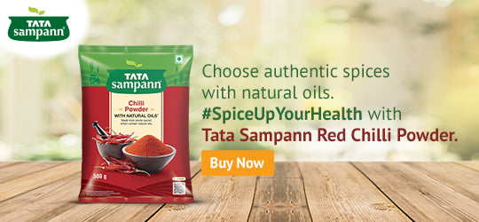 Choose authentic spices with natural oils..