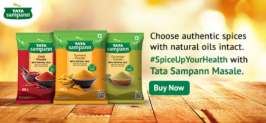 Choose authentic spices with natural oils.
