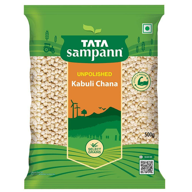 Tata Sampann Kabooli Chana, 500 GM