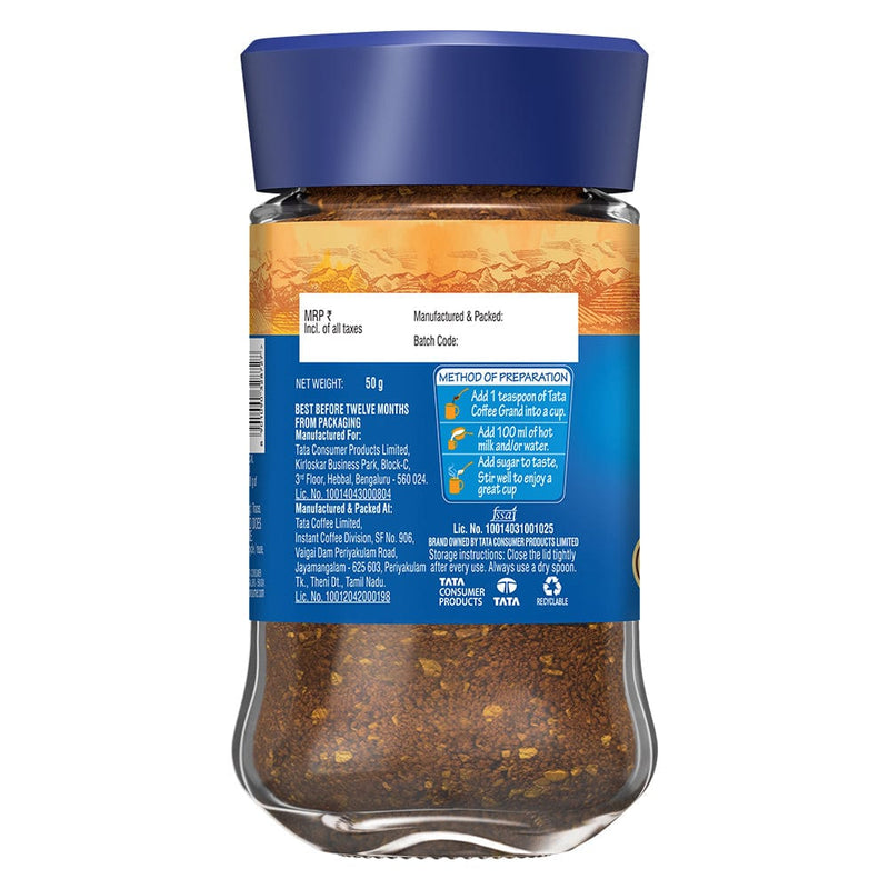 Tata Coffee Grand Jar, 50 GM