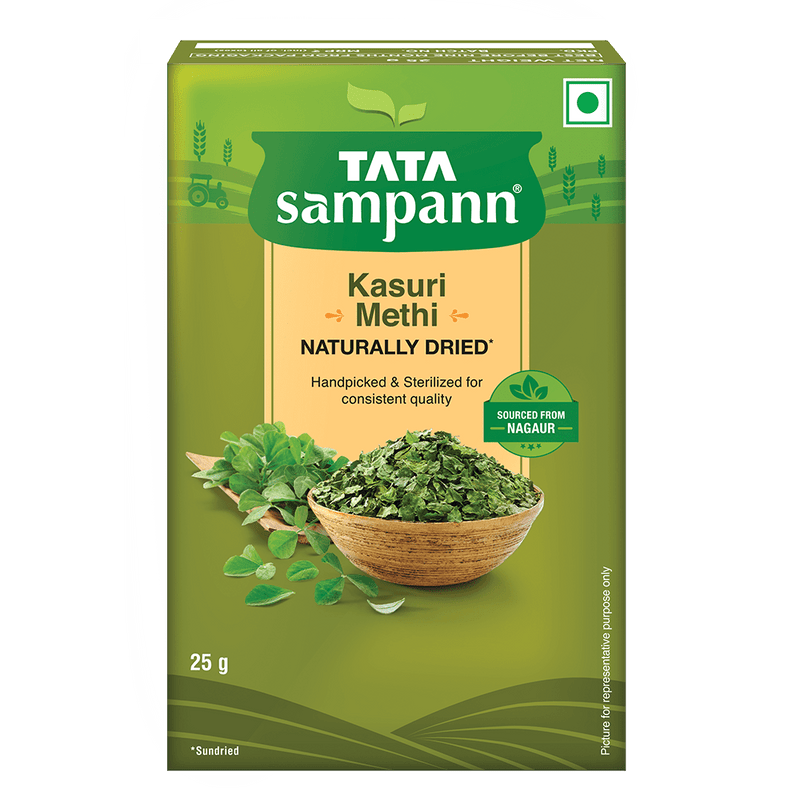 Tata Sampann Kasuri Methi, 25 GM