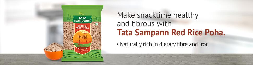 Healthy Red Rice Poha Snacks