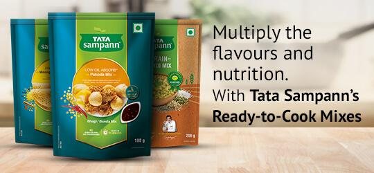 Multiply the flavours and nutrition.