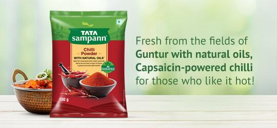 Chilli powder For those who like it hot