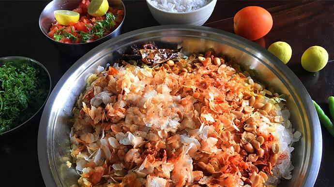 Red poha nutrition