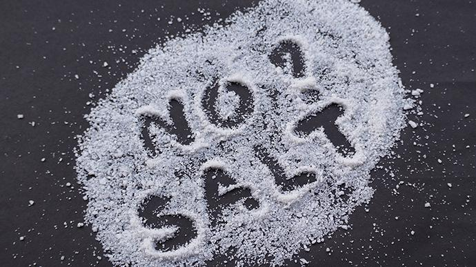 You have to live a salt less life_