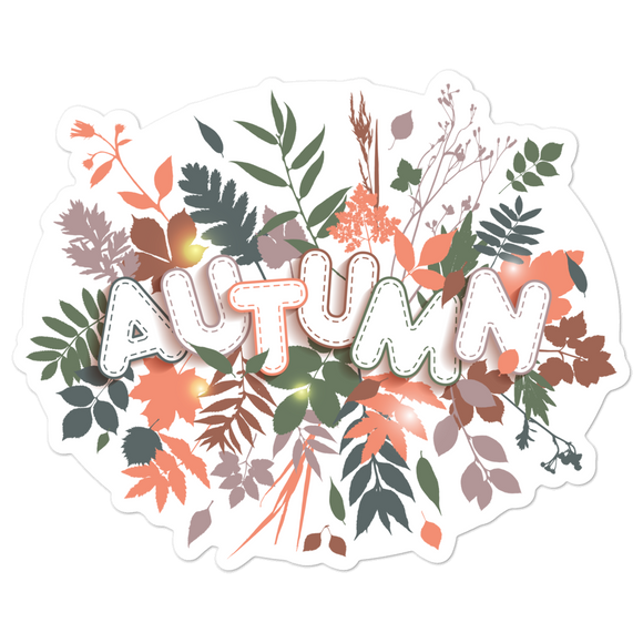 Autumn - Vinyl Sticker - No Bubble - Multiple Sizes - Vinyl Decal