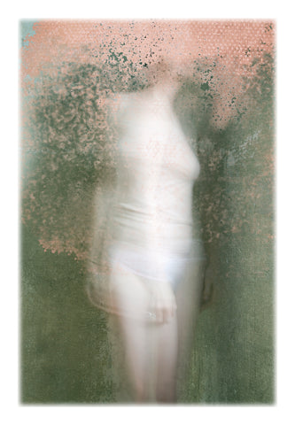 self portrait figurative Photography. Nude female figure.  Fine Art limited edition Photograph on Hahnemühle Museum grade paper. Francesca Woodman, whitewall, Saatchi Art, Artfinder