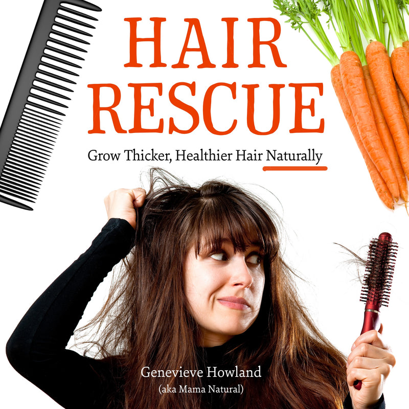 Hair Rescue! Grow Thicker, Healthier Hair Naturally