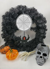 Load image into Gallery viewer, Black Widow Spider Spiderweb - Halloween Decor Felt Ornament Party Decoration Favors