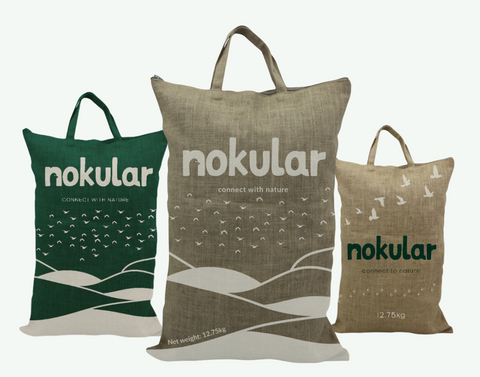 Nokular wild bird food packaging - 100% recyclable or completely reusable