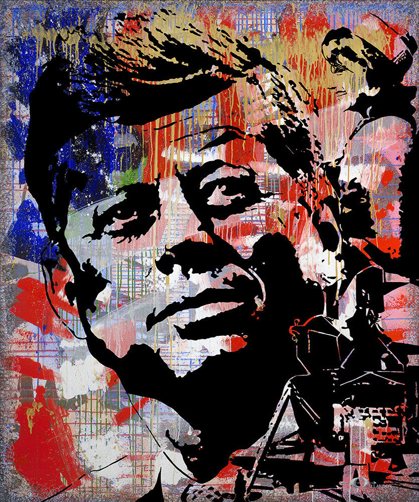 "JFK, A Greater Tomorrow <div class=""giclee"">giclee print</div>"