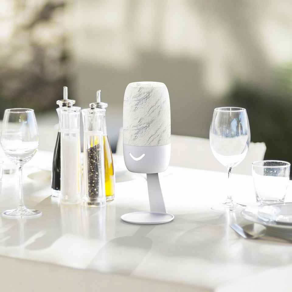 Touchless Foaming Hand Sanitizer Dispenser - Marble