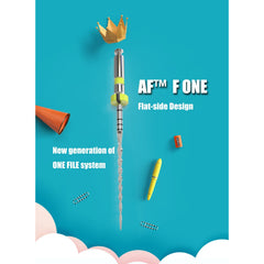 AF F ONE open file(#17/12)+F5(#25/04)*3 31mm 4pcs/box